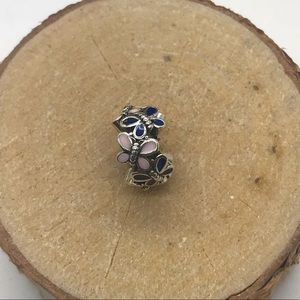Pandora Butterfly Spacer Charm